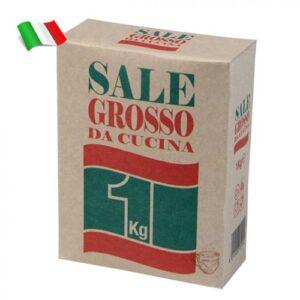 Соль морская грубого помола 1кг Италия