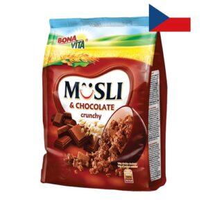 Мюсли Bona Vita с кусочками шоколада 350г Чехия