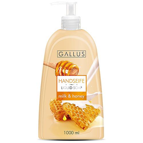 Жидкое мыло с дозатором Gallus Honey