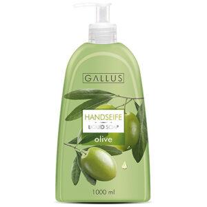 Жидкое мыло с дозатором Gallus Olive