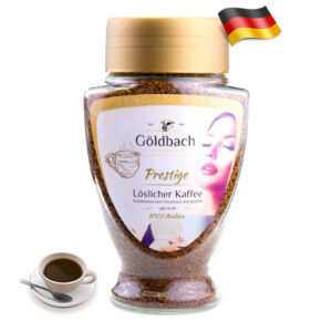 Растворимый сублимированный кофе Goldbach Prestige Arabica 200г Германия