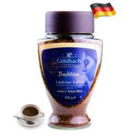 Растворимый сублимированный кофе Goldbach Tradition 200г Германия