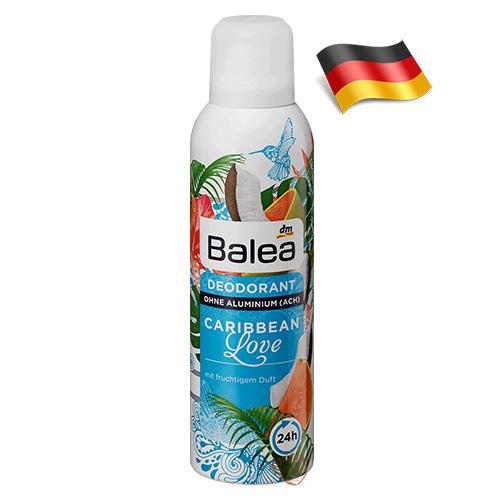 Дезодорант-спрей женский Balea Карибская Любовь 200мл Германия
