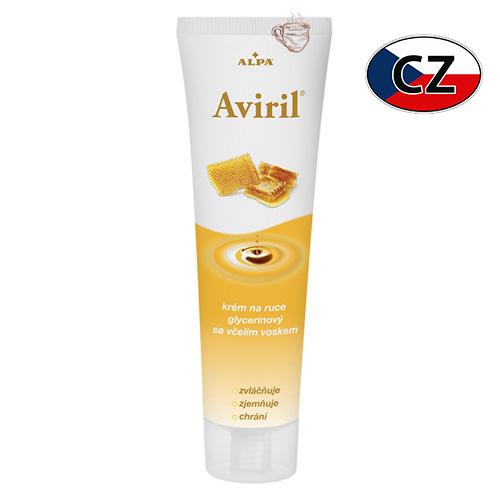 Крем для рук с пчелиным воском и глицерином Alpa Aviril 100мл Чехия