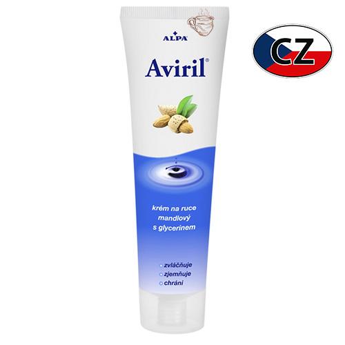 Крем для рук с миндальным маслом и глицерином Alpa Aviril 100мл Чехия