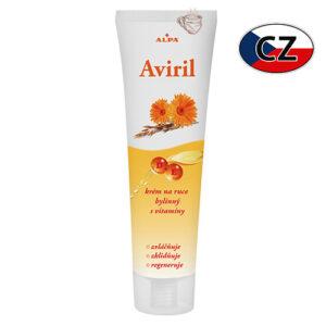 Крем для рук с витамином E и пантенолом Alpa Aviril 100мл Чехия