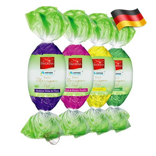 Пасхальные марципаны яйца Favorina 100г Германия