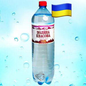 Минеральная вода PET Поляна Квасова 1,5л Украина
