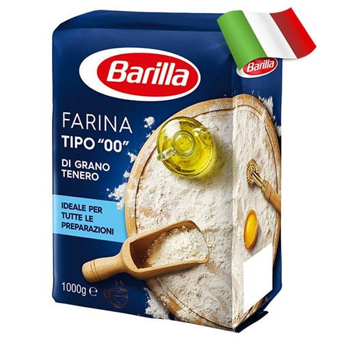 Мука из мягких сортов пшеницы Barilla 1кг Италия