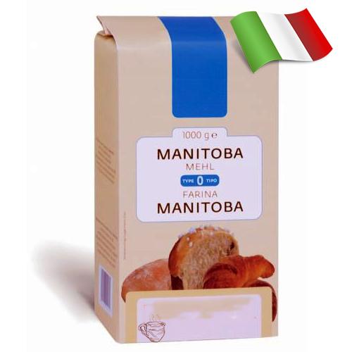 Мука из мягких сортов пшеницы Farina La Manitoba 1кг Италия