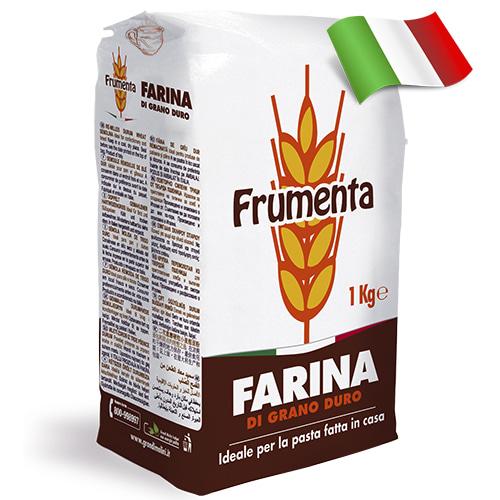 Мука из твердых сортов пшеницы Frumenta Grano Duro 1кг Италия