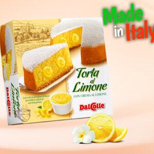 Кекс пасхальный DalColle с лимонным кремом 300г Италия