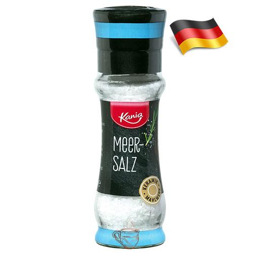 Специи мельница морская соль Kania Meer-Salz 110г Германия
