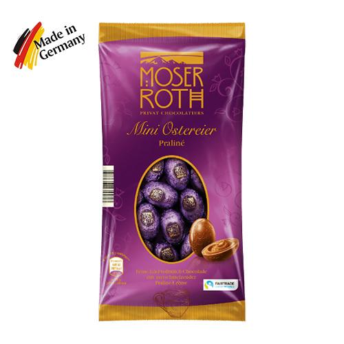 Пасхальные мини яйца Moser Roth Praline 150г Германия