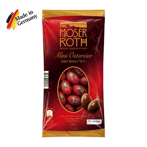 Пасхальные мини яйца Moser Roth Dark 70% 150г Германия