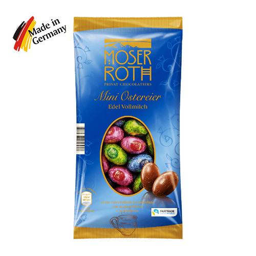 Пасхальные мини яйца Moser Roth Milk 150г Германия