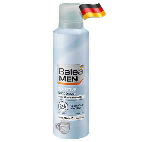 Дезодорант мужской Balea Сенситив 200мл Германия