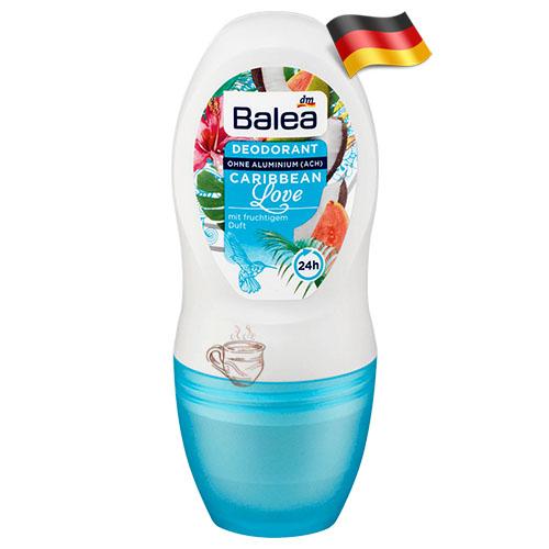 Антиперспирант шариковый женский Balea Карибская Любовь 50мл Германия