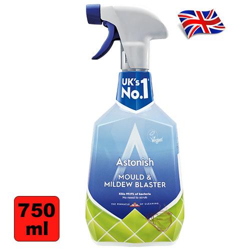 Спрей от плесени с хлором Аstonish Mould 750мл Англия