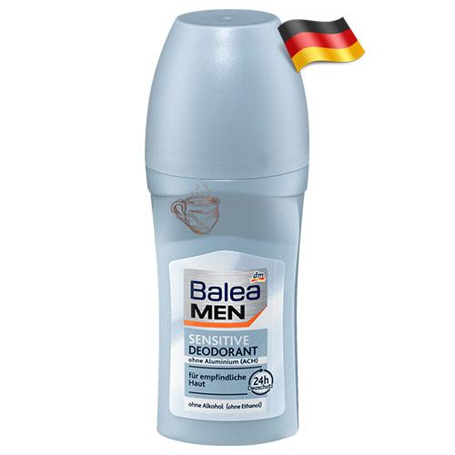 Дезодорант шариковый мужской Balea Сенситив 50мл Германия