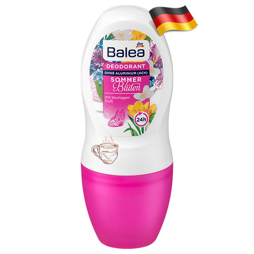 Дезодорант шариковый женский Balea Летние Цветы 50мл Германия