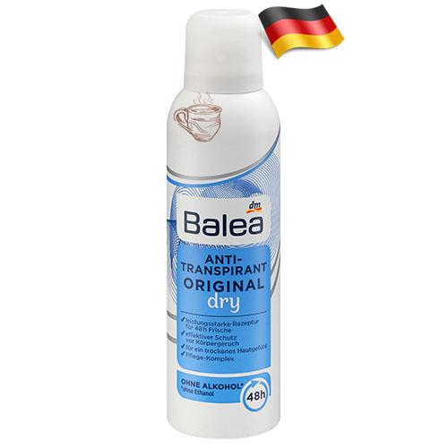 Сухой дезодорант-спрей женский Balea Dry 200мл Германия
