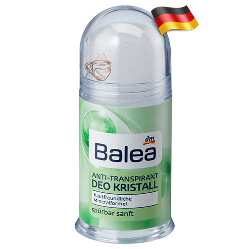 Кристаллический антиперспирант Balea Deo Kristall 100г Германия