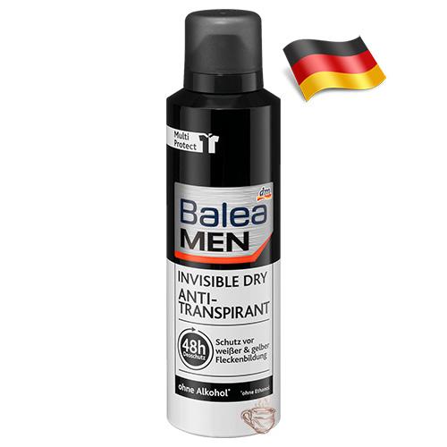 Сухой антиперспирант-спрей мужской Balea Dry 200мл Германия
