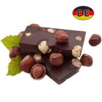 Лом черного шоколада с цельным фундуком Chateau 400 г Германия