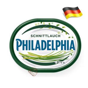 Сыр сливочный Philadelphia с зеленым луком 175г Германия