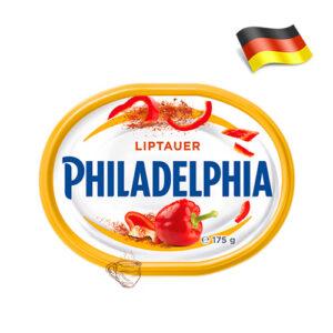 Сыр сливочный Philadelphia со сладким перцем 175г Германия