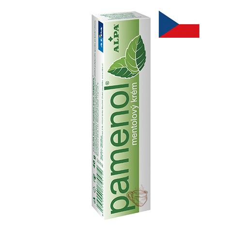 Крем массажный с экстрактом ментола Alpa Pamenol 40г Чехия