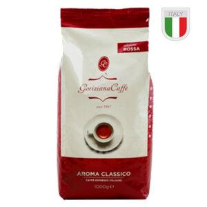 Кофе в зернах Goriziana Rossa 1кг Италия