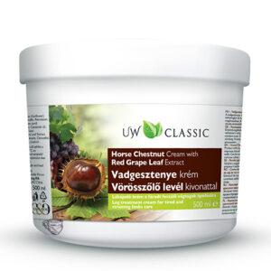 Крем противоварикозный с экстрактом конского каштана UW Grape 500 мл Венгрия