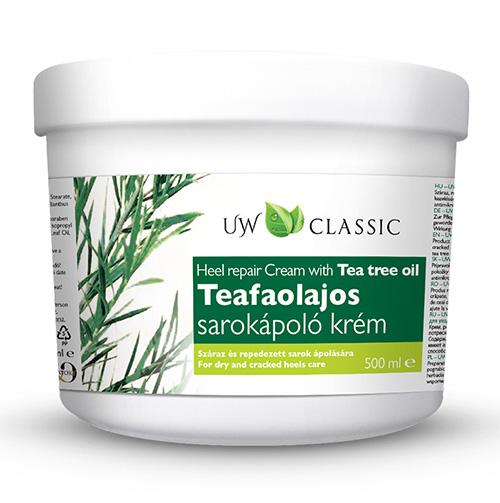 Крем для пяток с экстрактом чайного дерева UW Tea Tree 500 мл