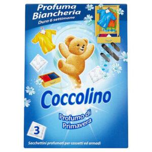 Парфюмированные салфетки Coccolino для шкафа.