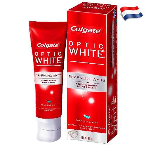 Зубная паста Colgate Optic White 75 мл Голландия