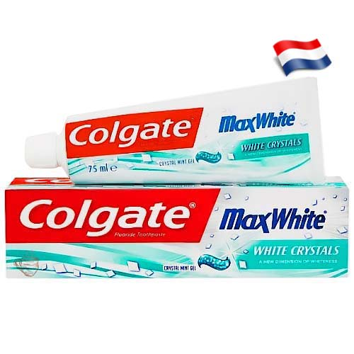 Зубная паста Colgate Max Fresh White Crystals 125 мл Голландия