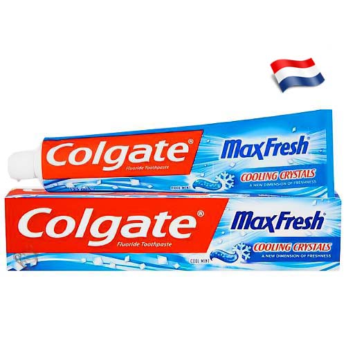 Зубная паста Colgate Max Fresh Cooling Crystals 125 мл Голландия