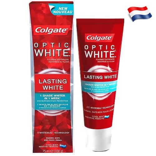 Зубная паста Colgate Optic White Lasting White 75 мл Голландия
