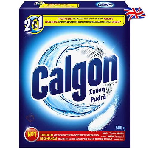 Анти известковый порошок для стиральной машины Calgon 500 g Англия