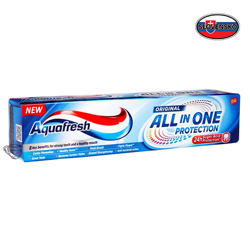Зубная паста Aquafresh All in One 100 мл Словакия