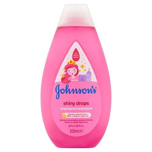 Шампунь для девочек Johnson`s Baby Shiny Drops 500 мл Франция