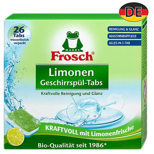 Бесфосфатные таблетки для пмм Frosh All in One Lemon 26 шт Германия