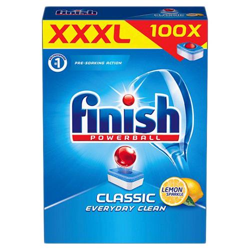 Таблетки для посудомоечных машин Finish Classic Lemon 100 шт Англия