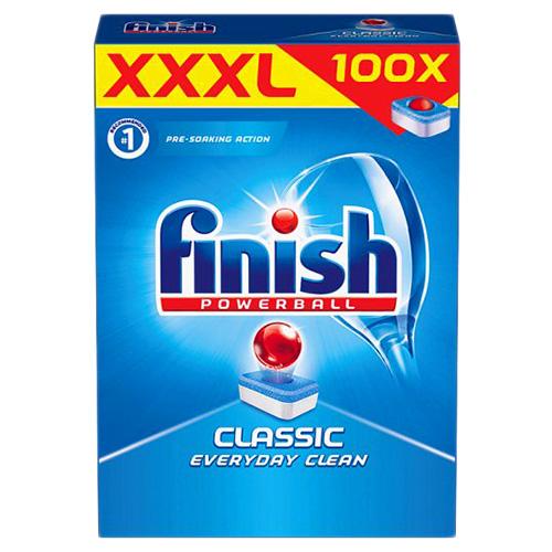 Таблетки для посудомоечных машин Finish Classic 100шт Англия