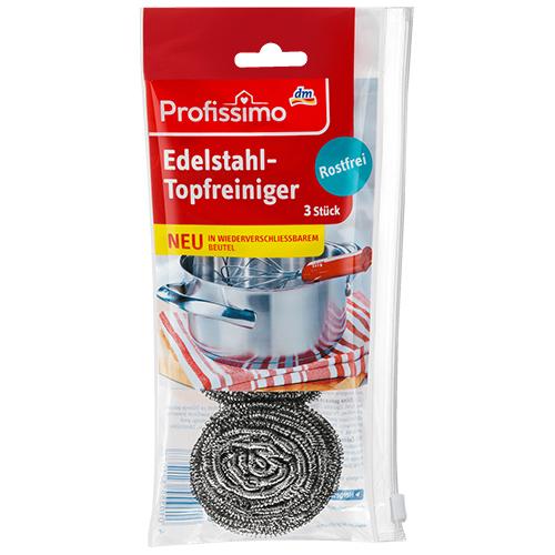 Металлические губки для посуды DenkMit Profissimo 3 шт Германия