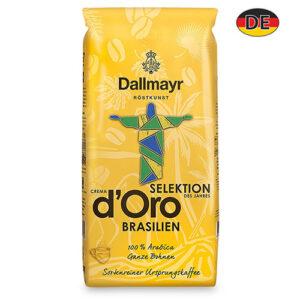 Кофе в зернах Dallmayr d'Oro Selektion Brasilien 1000 г Германия