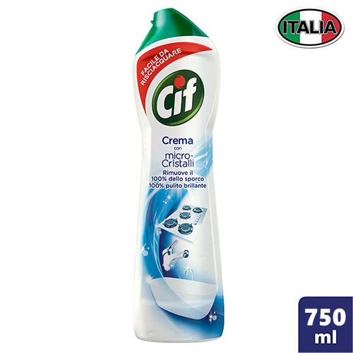 Чистящее средство-молочко для кухни Cif 750 мл Италия