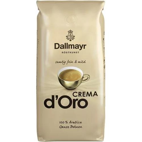 Кофе в зернах Dallmayr d´Oro Crema 1000 г Германия